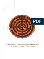 4 Smart Options to Overcome the Lonely Journey to Captive Shared Services