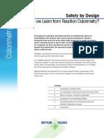 Reaction Calorimetry Guide A4