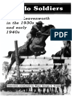 BuffaloSoldiersAtFtLeavenworthInThe1930-1940