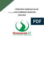 Data Base Pengurus Hamasah Islam 2013-2014
