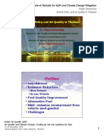 Thailand - Biofuel Policy and Air Quality