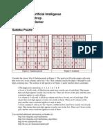 A i Project 2011 Sudoku