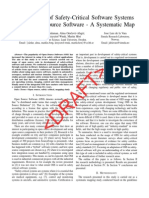 Development of Safety-Critical Software Systems Using Open Source Software - A Systematic Map