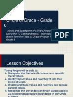 circle of grace - grade 8