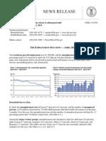April 2014 Employment - Bureau of Labor Statistics