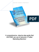 40 Hours to Twitter Mastery Sample Guide