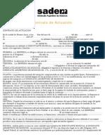 Contrato de Actuacion