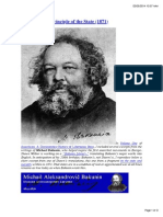 Bakunin- The Principle of the State(1871)