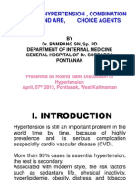 Essenstial Hypertention, What the Rationale Option Treatment