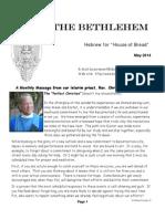 May Bethlehem Newsletter 2014