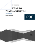 A Gateway to Pharmacology