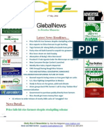 1st May,2014 Daily Global Rice E-Newsletter by Riceplus Magazine