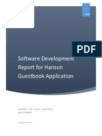 Software Development Report