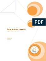 Simple GSM Jammer