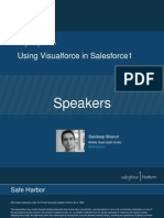 Visualforce in Salesforce1 [Best Practices of Visualforce In Salesforce1]