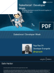 Salesforce1 Developer Week Slides From Raja Rao