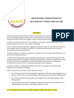 programma amministrativo