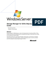 Storage Manager for SANs Step-By-Step Guide