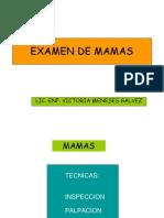 Examen de Mama