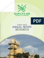 Bawanyair Annual Report JUNE 2012-2013