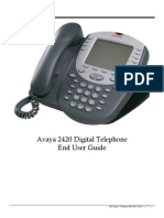 Avaya 2420 User Guide