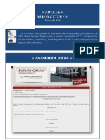 APECES -Newsletter No 21
