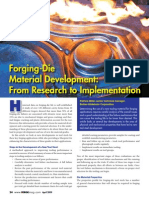 Article Choosing the Right Material for Forging Applications