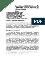 Instrumentos de Recopilación de Información Aplicables en Una Auditoría de Sistemas Computacionales