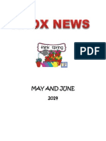 May June Newsletter - Knox Church