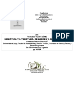 Semiotica y Literatura