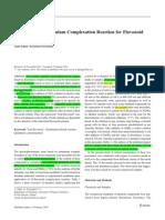 2014 Evaluation of Aluminium Complexation Reaction for Flavonoid Content Assay