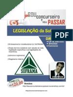Apostila Completa de Legislação Específica Da Suframa