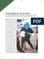 Reportagem Investigaýýo Prývia de Solos