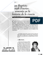 Fourier. La Armonía en La Historia de La Ciencia.