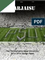 pennsylvania state university 2014 design paper