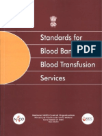 Standards for Blood Banks and Blood Transfusion Services