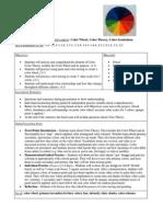 Color Wheel Lesson Plan