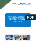 Plan Maestro de Electrificación del Ecuador 2012-2021