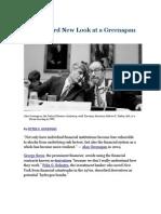 A Hard Look at Greenspan Legacy