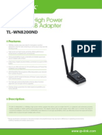 TL-WN8200ND V1 Datasheet