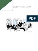 Rbs Abnamro Project Report