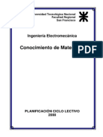 Conocimiento de Materiales 2008