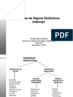 SIGNOS DISTINTIVOS - INDECOPI