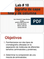 Chromatography LPL