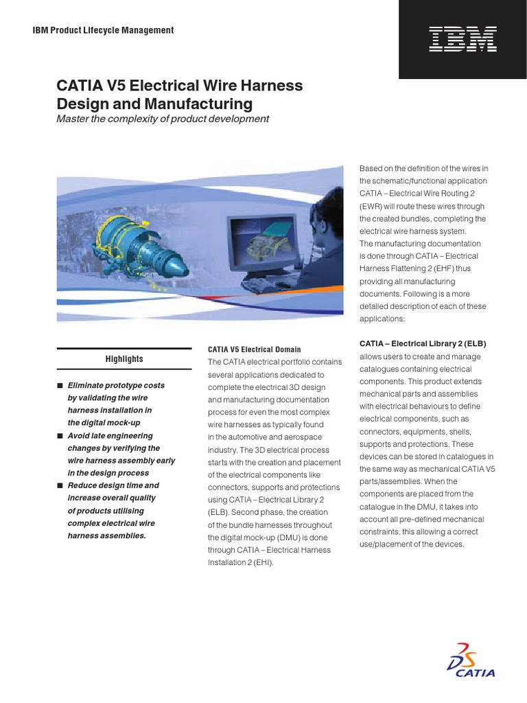 Plugin-plm 05 PLM 001610 P2 Electrical Flyer LR | Product Lifecycle |  Production And Manufacturing