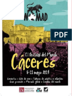 Vive El WOMAD de Cáceres 2014 Desde Plasencia