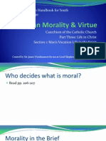 chps  21 22 23 and 30 christian morality and virtue - notes