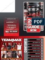 2014 Max Muscle Sports Nutrition Product Guide
