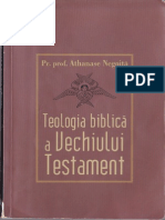 Teologia biblică a Vechiului Testament - Athanase Negoiță