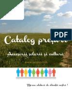 Catalog Accesorii Solarii Cultura